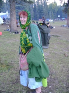 Me, sporting some of my best hobbit attire.