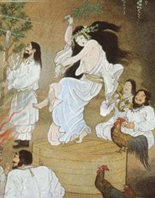 Uzume- A Joyful Goddess   The World According to ChinaCat