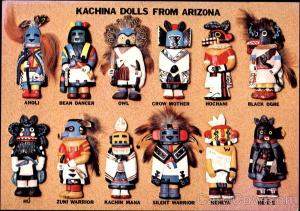 Kachina Dolls From Arizona Kachinas