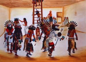 Kiva Kachina Dance by Ray Naha