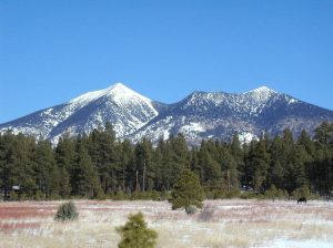 The San Francisco Peaks- For many years this is the view of the peaks I saw everyday.